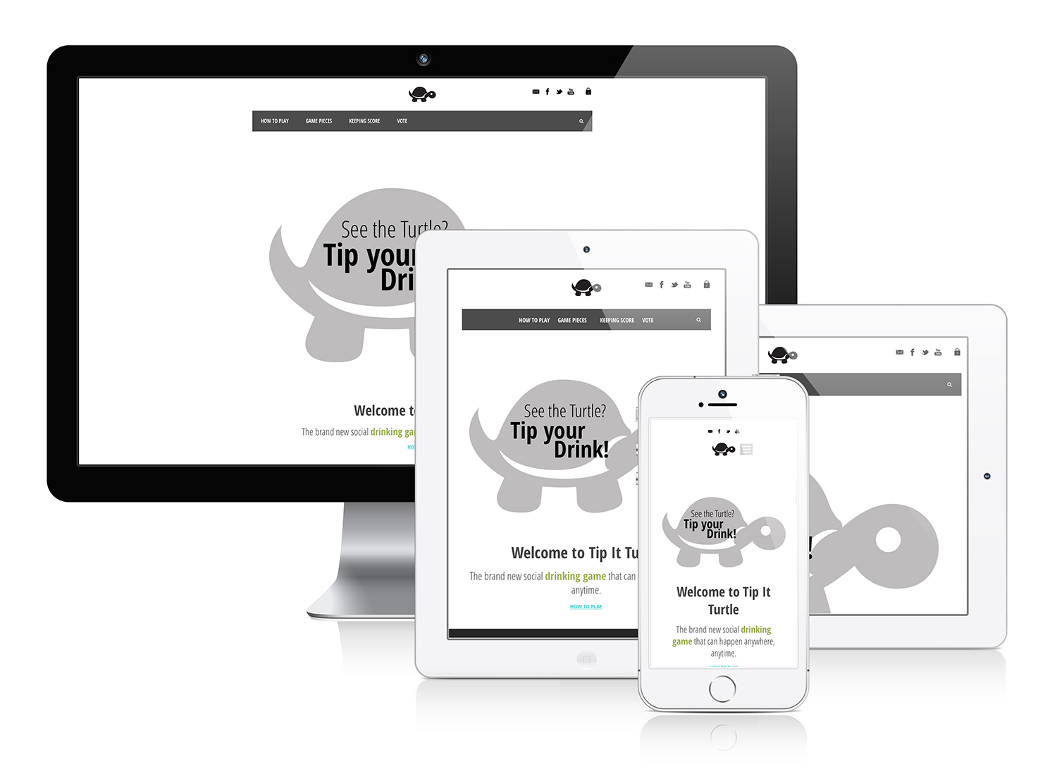 Tip It Turtle - Responsive Web Design & eCommerce