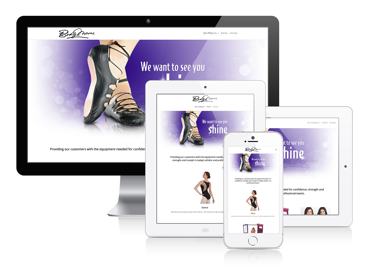 Body Moves - Responsive Web Design