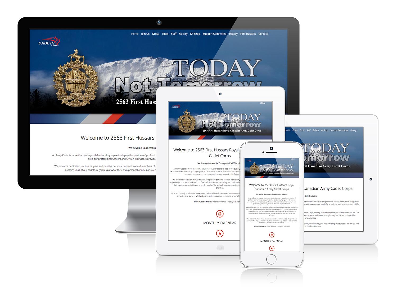 2563 Petrolia Cadets - Responsive Web Design