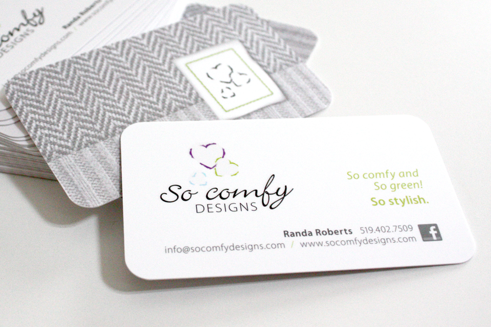 So Comfy Designs - Business Cards