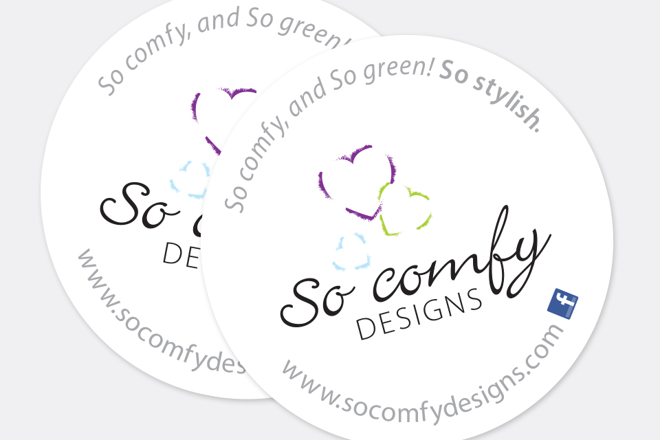 So Comfy Designs - Stickers