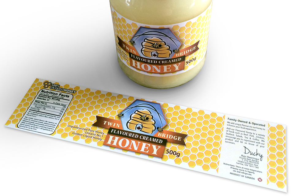 Twin Bridge Honey - Jar