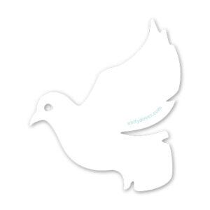 Unity Doves Vinyl Sticker