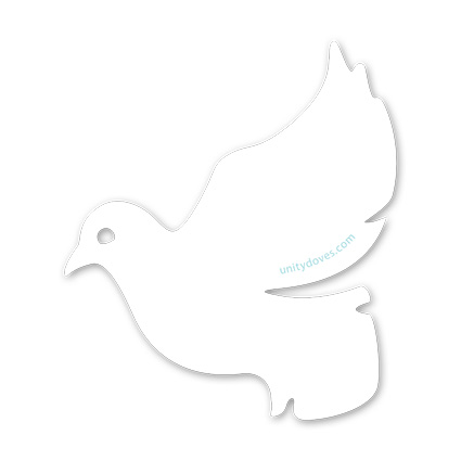"""Featured image for """"Unity Doves Vinyl Sticker"""""""
